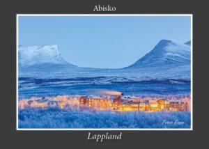 Abisko turiststation och Lapporten