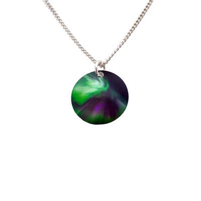 Aurora Borealis halsband